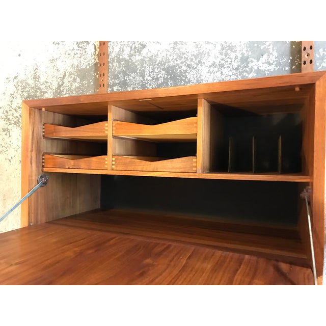 Poul Cadovius Poul Cadovius Teak Cado Wall Unit Denmark For Sale - Image 4 of 13