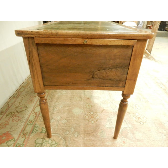 19th C. French Leather Top Desk For Sale - Image 4 of 12