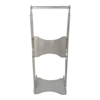 Vintage Mid Century Modern Lucite Acrylic Small Scale Valet Stand For Sale