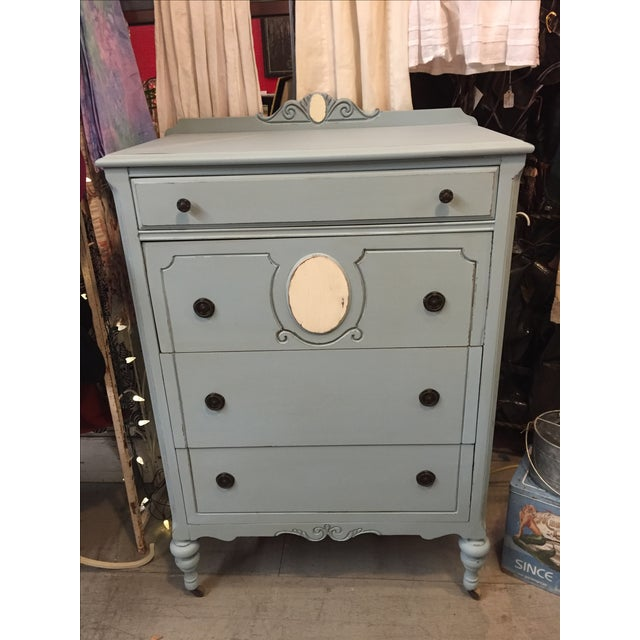 1930s Antique Distressed Dresser - Image 2 of 8