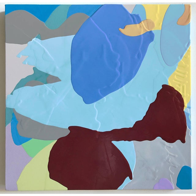 Early 21st Century Carolanna Parlato Blueflower 2017 For Sale - Image 5 of 5