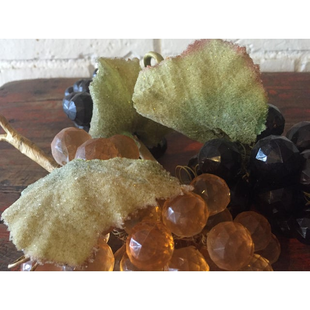 Vintage Faceted Grape Clusters - Set of 3 - Image 5 of 5