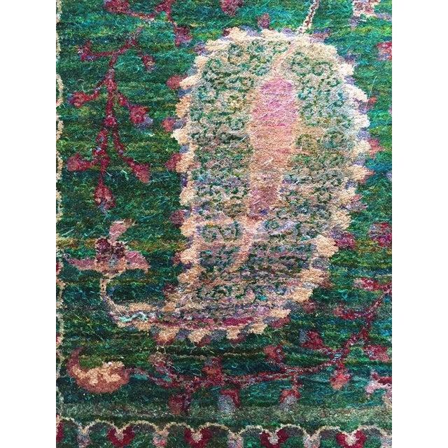 Eva Sari Silk Rug - 7′9″ × 11′6″ For Sale - Image 4 of 7