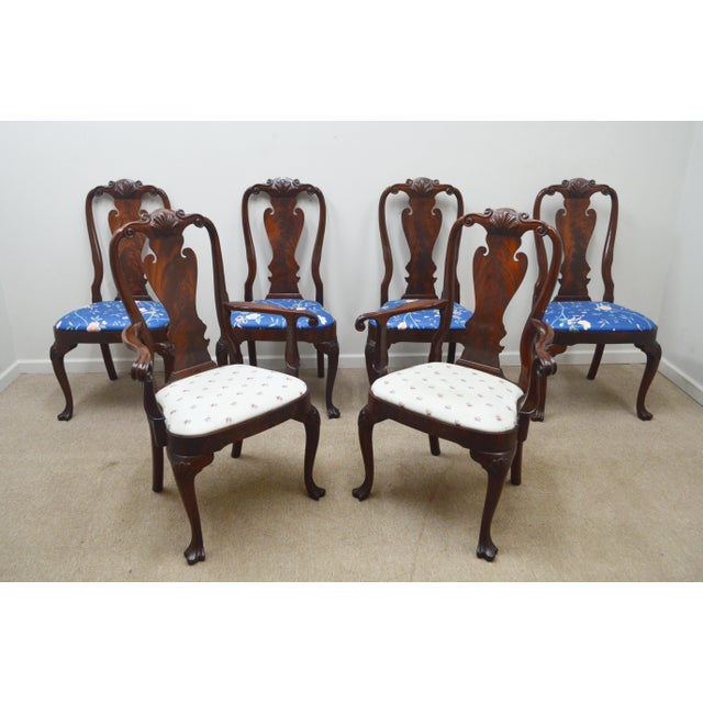 Councill Set of 6 Mahogany Dining Chairs For Sale - Image 13 of 13
