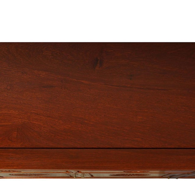 1950s Chinese Carved Rosewood Sideboard Buffet Table For Sale - Image 10 of 13