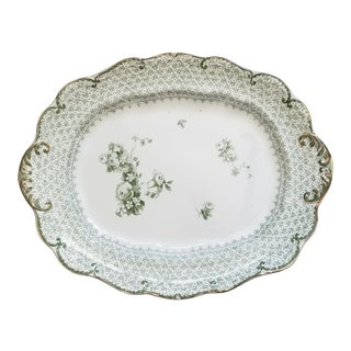 Antique Theodore Pattern Platter For Sale