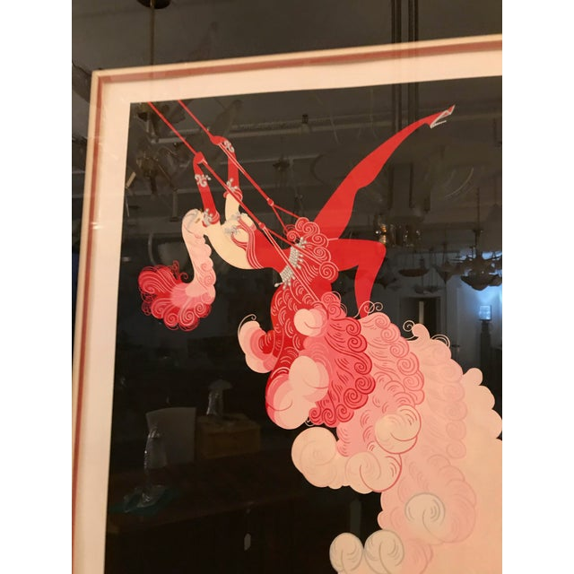 Erte 'French, 1892-1990' the Trapeze For Sale In New York - Image 6 of 11
