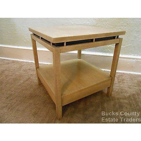 American of Martinsville Cathay Casuals Mid Century End Table (James Mont Era) For Sale - Image 11 of 13