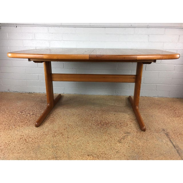 Dyrlund Danish Teak Dining Table - Image 2 of 7