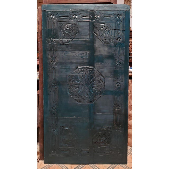 21st Century Vintage Moroccan Wooden Panel For Sale In Orlando - Image 6 of 7