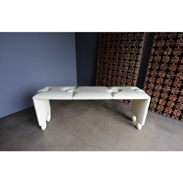 "Modern Goatskin ""Puzzle"" Console by Scala Luxury For Sale - Image 3 of 13"