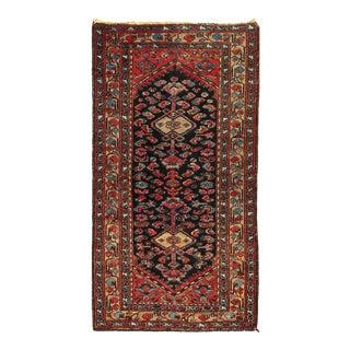 1900s Antique Hamadan Rug For Sale