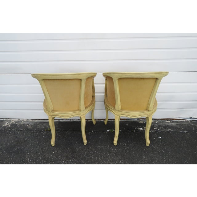 French Burl Shape Four Side Chairs by Jamestown Lounge Co 2112 For Sale In Miami - Image 6 of 13