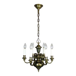Colonial Revival Chandelier (6-Light)