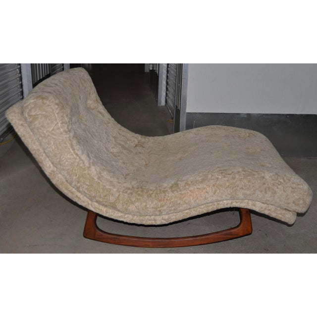 Mid 20th Century Adrian Pearsall Wave Rocker Mid 20th Century For Sale - Image 5 of 5
