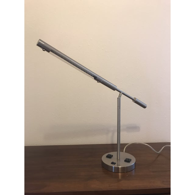 1960s Mid-Century Chrome Desk Lamp For Sale - Image 5 of 5
