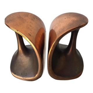 Ben Seibel Mid-Century Bookends - a Pair - Free Shipping! For Sale