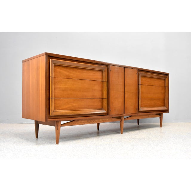 Danish Modern Mid-Century Modern Dresser/Credenza by Basic Witz For Sale - Image 3 of 12