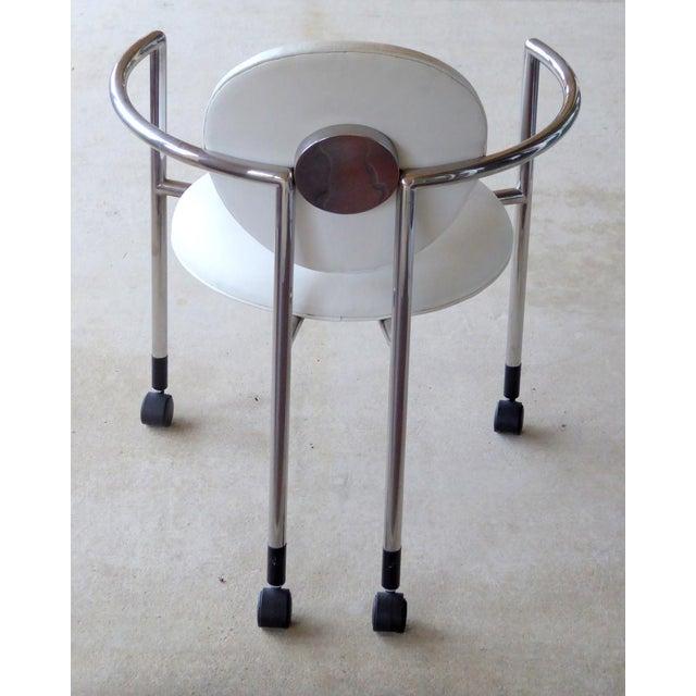 Bauhaus Stanley Jay Friedman for Brueton Moon Chair For Sale - Image 3 of 3