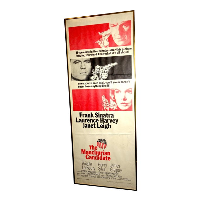 "1962 Movie Poster for the Film ""The Manchurian Candidate"" Direct by John Frankenheimer For Sale"