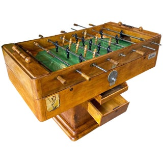 Mid-Century Sportfoot Foosball, Italy C. 1950s For Sale