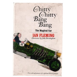 "1964 ""First Edition, Chitty Chitty Bang Bang: The Magical Car"" Collectible Book For Sale"