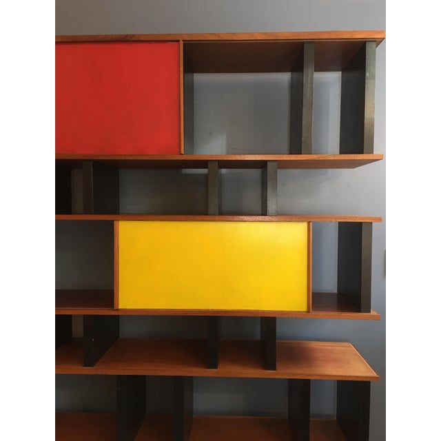 Charlotte Perriand and Jean Prouve Style Shelving System For Sale - Image 10 of 13