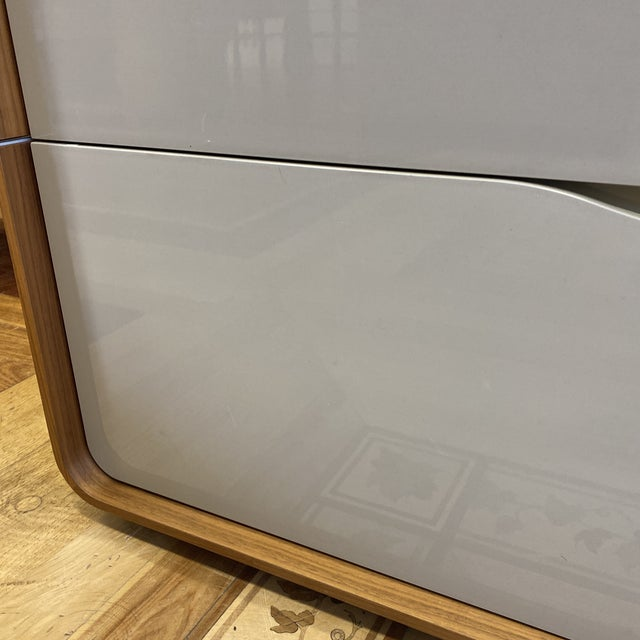 Wood Ligne Roset Peter Maly Cemia 3 Drawer Dresser For Sale - Image 7 of 10