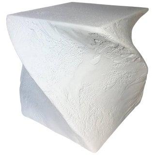 1970s Postmodern Sculptural Plaster Table For Sale