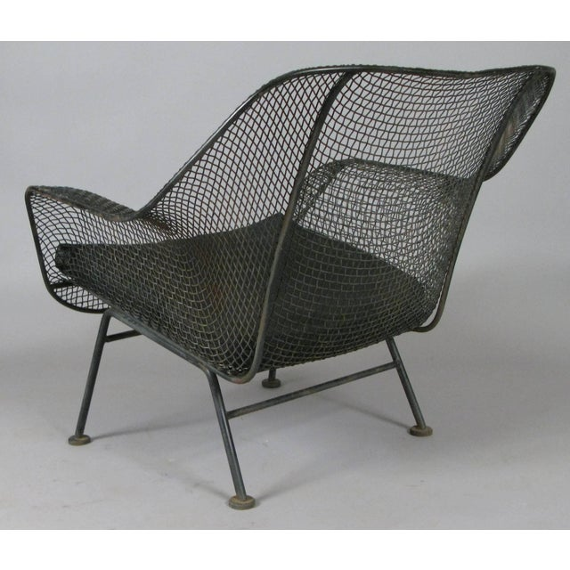 Pair of 1950s Woodard Sculptura Lounge Chairs For Sale In New York - Image 6 of 7