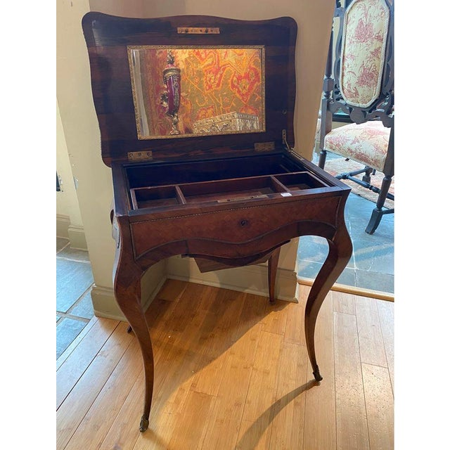 19th Century French Louis XV Style Vanity For Sale - Image 12 of 13