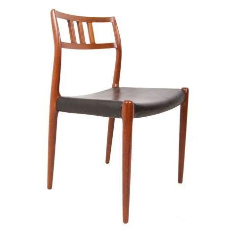 Niels Moller Danish Teak Dining Chairs - Set of 6 - Image 7 of 7