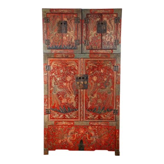 Pair of 20th Century Chinese Coromandel Cabinets For Sale