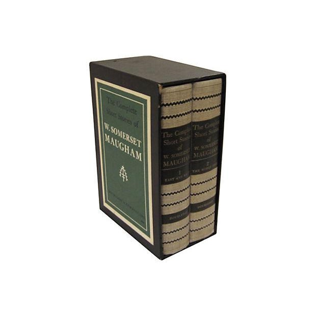Somerset Maugham Short Stories- Set of 2 - Image 1 of 8