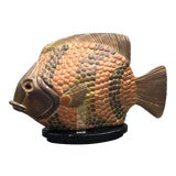 Image of 1980s Lifesize Sergio Bustamante Fish For Sale
