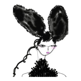 """Louis Ears"" Limited Edition Print by Annie Naranian For Sale"