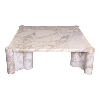 Mid-Century Gae Aulenti Jumbo Marble Table for Knoll For Sale