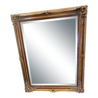Italian Rococo Style Beveled Glass Mirror For Sale