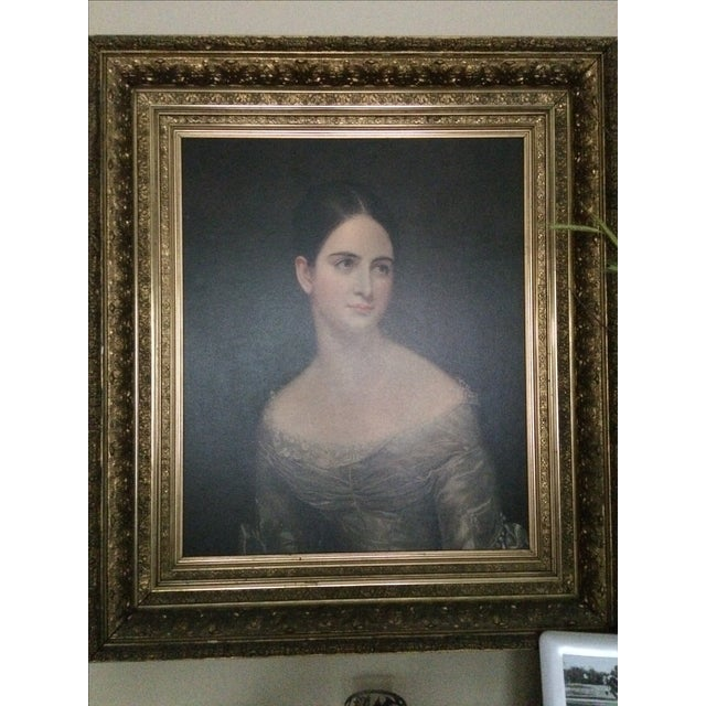 Miss Pearce by Thomas Sully For Sale - Image 7 of 7