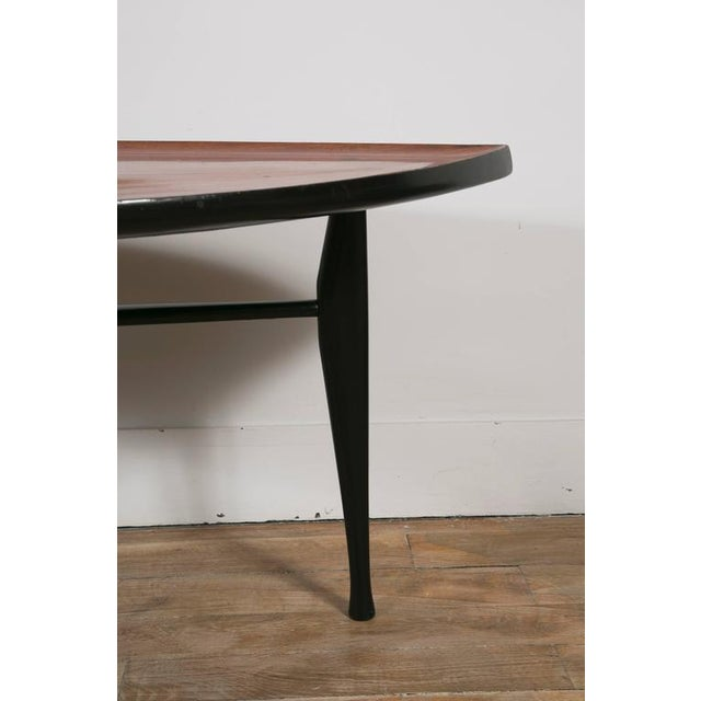 Lacquer Leaf' Occasional Table by Yngve Ekstrom For Sale - Image 7 of 10