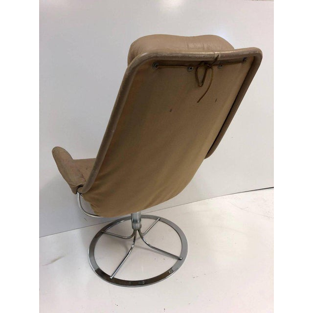 Pair of Bruno Mathsson Jetson Lounge Chairs for DUX - Image 3 of 6