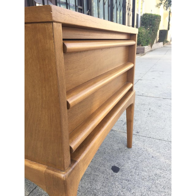 Mid-Century Lane Rhythm End Table Nightstand - Image 7 of 10