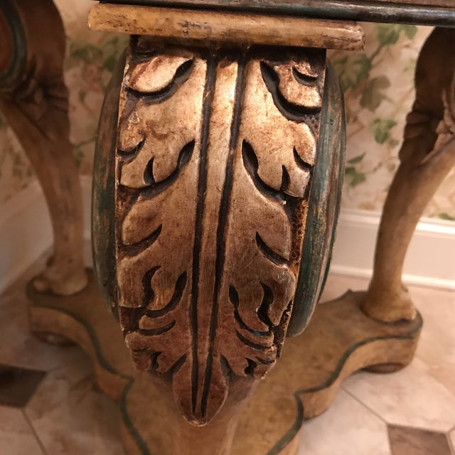 Wood Traditional Wooden Center Table For Sale - Image 7 of 8