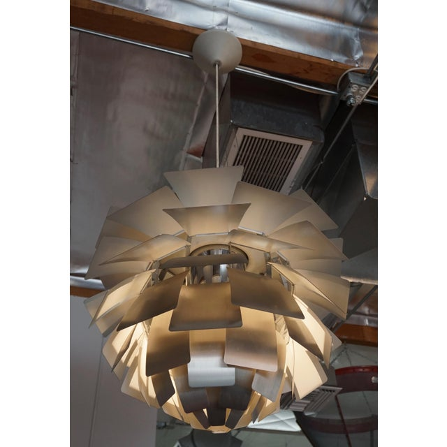 """""""Artichoke """" Pendant Lamp by Poul Henningsen For Sale In Palm Springs - Image 6 of 7"""