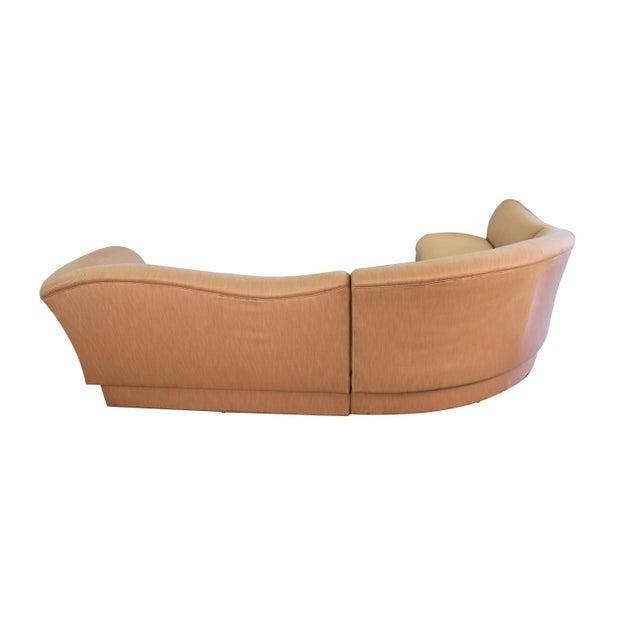 Directional Mid Century Vladimir Kagan Style for Directional Sectional Sofa For Sale - Image 4 of 12