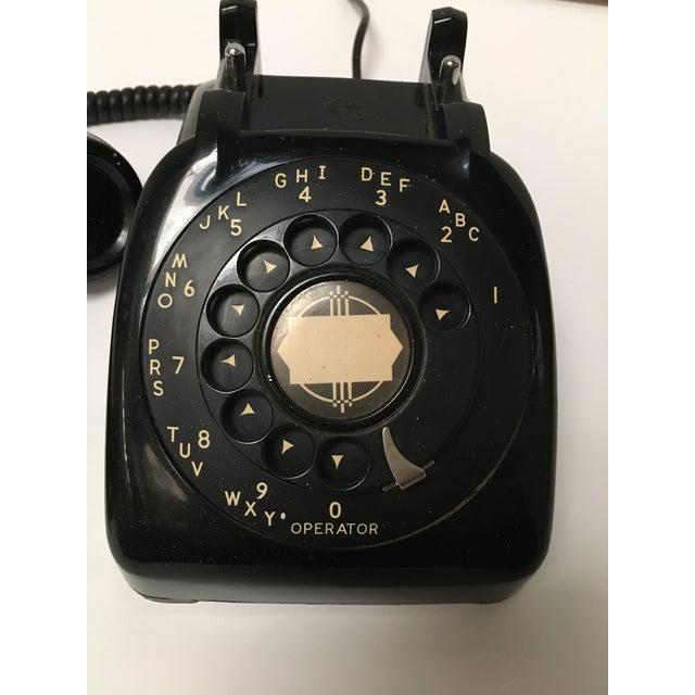 Vintage Leich Black Bakelite Dial Telephone - Image 4 of 9