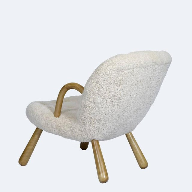 """1940s Philip Arctander """"Clam"""" Chair For Sale - Image 5 of 10"""