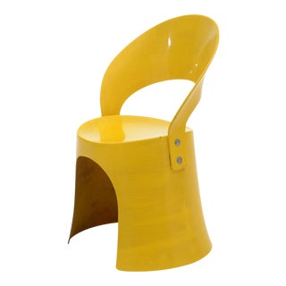Nanna Ditzel Yellow Fiberglass Chair