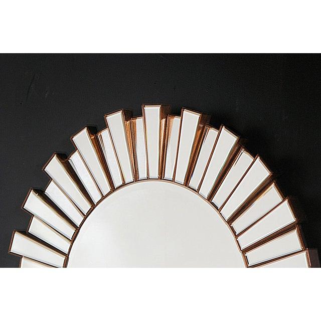 Hollywood Regency-Style Sunburst Mirror - Image 3 of 3