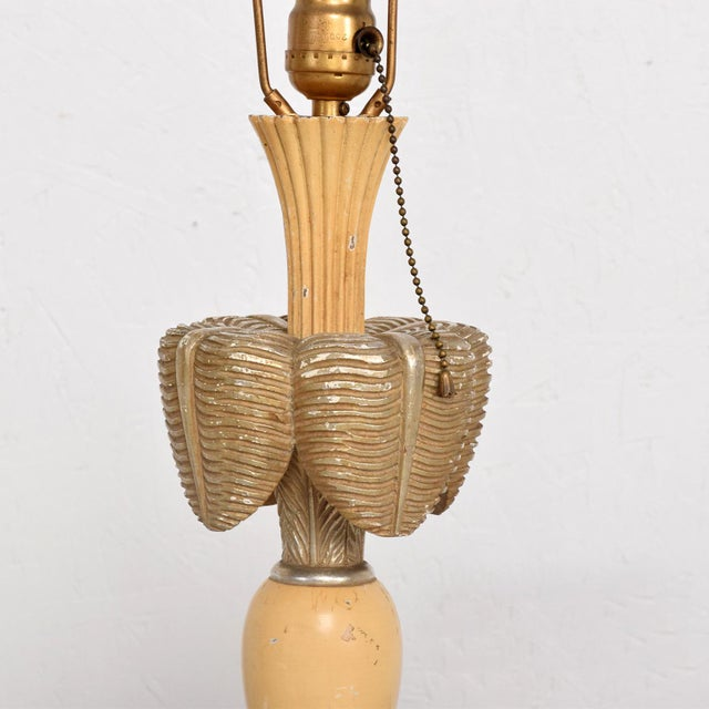 Neoclassical Sculptural Table Lamps, Circa 1940s For Sale - Image 9 of 12